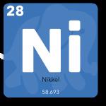 Nikkel bruges i telefonens processor, vibrator, printplade og højttaler