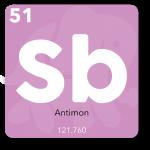 Antimon bruges i telefonens printplade og processor