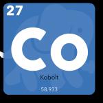 Kobolt bruges i telefonens printplade og kasse