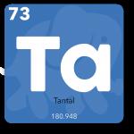 Tantal bruges i mobiltelefonens printplade
